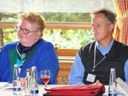 Marjukka Dyer and Prof. Wolfgang Günthert