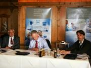 Prof. Gerhard Rettenberger, Tom Vereijken and Robert Schrimpff