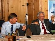 Prof. Bernd Neukirchen and Prof. Gerhard Rettenberger
