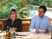 Julie Linn Teigland and Markus Stahl